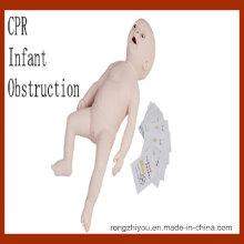 Mannequin d'entrainement médical maniaque avancé pour obstruction des nourrissons