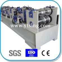 Pasado CE e ISO YTSING-YD-6647 Automático Control C / Z Purlin Rápida Intercambiable Máquina