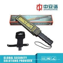 Equipo portátil de seguridad para hospitales Detectores de metal portátiles con luz / alarma vibratoria