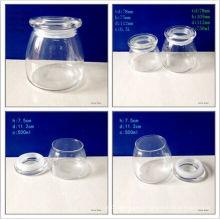 500ml and 750ml Borosilicate Chocolate Jars with Glass Lids