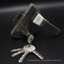 Hochwertiges Edelstahl Material Swing Glastürschlösser mit Griff