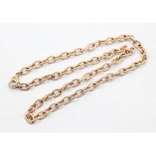 Новое прибытие розового золота обшивки из нержавеющей стали текстурированной кабельной цепи