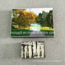 Photo Frame Block with Adhesive Film to Stick Photo Wall Hanging Picture Frames