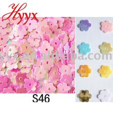 Blingbling bunte Blumen-Form-Konfetti-Partei-Dekoration