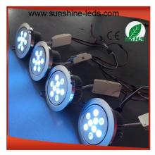 White Shell 27 RGBW LED Einbauleuchte / Deckenleuchte