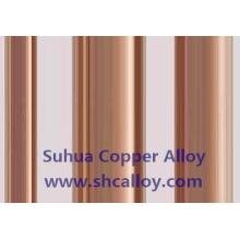 Uns C18150 Cucr1zr Barre rectangulaire en cuivre