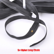 5 # cremallera de nylon de cadena larga