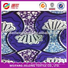 algodón de moda impreso tela de cera africana