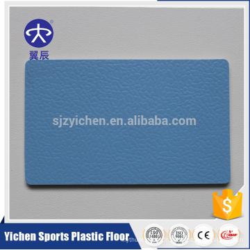 Plancher en plastique de PVC de plancher synthétique de 4.5mm pour le terrain de handball