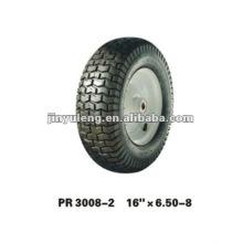 goma rueda 16x6.50-8