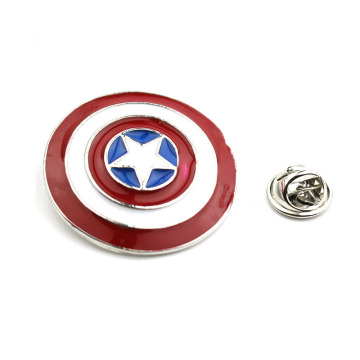 Superheld Captain America metalen reversbadges
