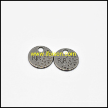 Classic Metal Tag Button for Garment