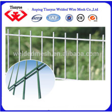 HDG and electro galvanized or PVC coated double wire fence
