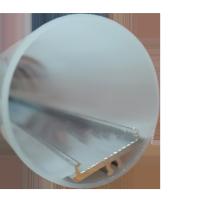 T8 LED PC couvercle tubelight boîtier