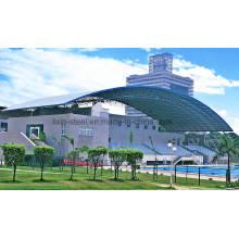 Low Cost Einfache Design Stahl Dach Traversen und Stahl Dachblech für Natatorium