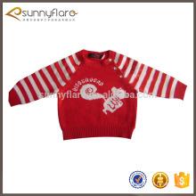 Camisolas de cashmere de lã para crianças