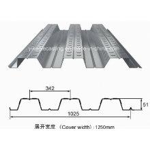 Hoja de suelo galvanizado en caliente DIP (Yx 51-342-1025)