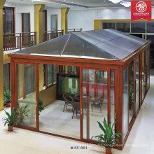 Factoy Custom Sun Room, Aluminum Glass House