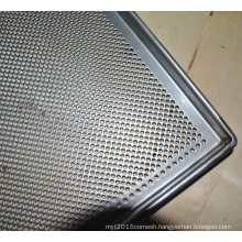 304 ss stainless steel perforated metal pastry baked food serving trays