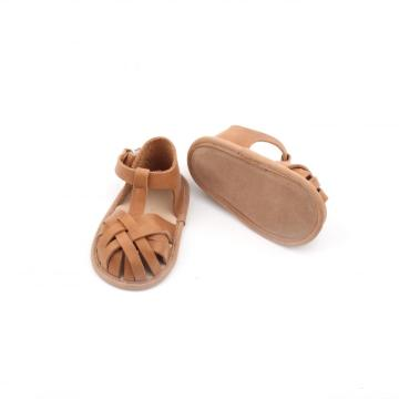 ECO-Friendly Leather Newborn Baby Toddler Sandals Shoe