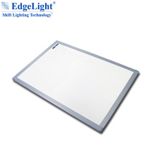 Edgelight smd led light panel for lighting with reflective sheet diffusion super brightness