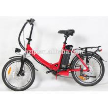 TOP E-cycle popular mini folding electric bicycle china