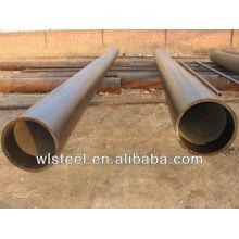 astm a53 a106 api tubo de acero soldado con autógena del diámetro grande del tubo de 5l