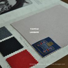 sarja de cavalaria lisa aplainada tecido de lã para roupas