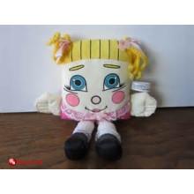 Costume personnalisé adorable oreiller jouet en peluche