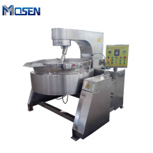 500 Liter Steam Jacketed Cooking Kettle With Agitator