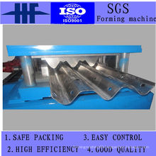 Guard Rail Steel Cut Cold Roll Forming Machinery