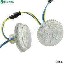 24VDC 12LEDs programable 50mm UCS1903 rgb ws2811 led pixel dot light