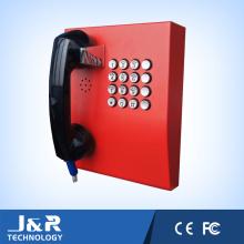 Interphone J & R-207 de protection antivandale, téléphones publics, téléphone d'urgence