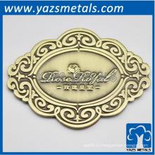 выполненный на заказ металл латунь roseroyal плиты