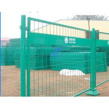 Revestido de PVC cercas temporárias com pés de ferro (TS-L31)