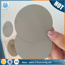 PP PE Granules Steel Dutch Weave Mesh Filter Disc