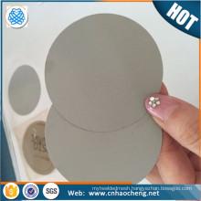 PP PE Granules Steel Dutch Weave Mesh Filter Disc