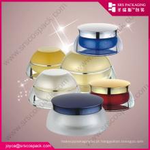 China Todos em forma de Cosméticos Embalagem Creme Cremes Jars Creme frascos de amostras de plástico
