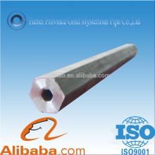 Hot Sale Cold Hexagonal Tubo de aço sem costura