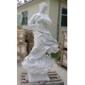Mármore, escultura, antiga, escultura, estátua, esculpido, pedra, granito, arenito, (sy-x1546)