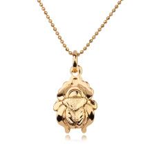 30883 colgante ambiental de la aleación de cobre de la joyería de Xuping animal con oro plateado