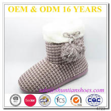 Fur Lined Customized Fuzzy Winter Boots Girls