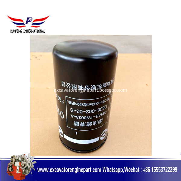 Engine Spare Parts 1w8633 Fule Filter C85ab 1w8633 A C6121 D638 002 02 B D6114 For Sdlg