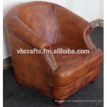 Leder Sofa Couch Europäischer Stil