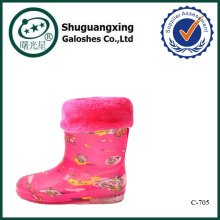 botas de lluvia C-705 de impresión de ovejas