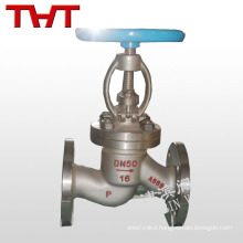 pn16 carbon steel flanged globe valve