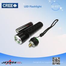 Jexree führte Taschenlampe führte wiederaufladbare taktische Taschenlampen in China gemacht