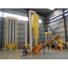 Línea de producción de pellets de madera (pellets de combustible de biomasa)