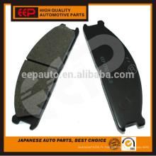 Plaquettes de frein pour navara D21 / D22 41060-05N90 plaquettes de freins japonaises