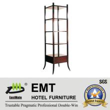 Strong Wooden Frane Multideck Cabinet Decorative Cabinet (EMT-DC09)